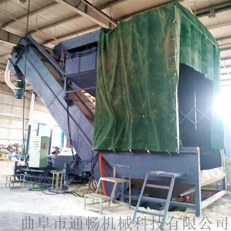 通畅集装箱卸灰机 环保无尘码头粉料拆箱机 卸车机