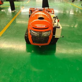 履带小型拖拉机 多功能田园管理机 乘坐式开沟旋耕机