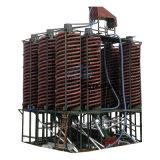 洗钛矿小型螺旋溜槽 低速螺旋溜槽