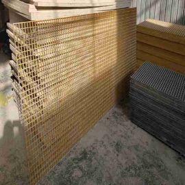 榆林防滑格栅 玻璃钢钻井平台格栅用途