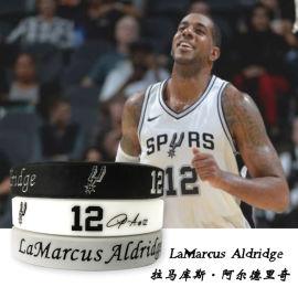 源头厂家NBA篮球明星硅胶手环定制