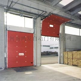 4.烟台工业滑升门鸿发自动门,你最放心的品牌