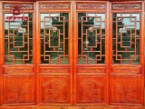 达州仿古门窗厂家,实木花格雕花门窗定做厂家
