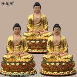三世佛佛像廠家大日如來釋迦摩尼 毗盧遮那佛像