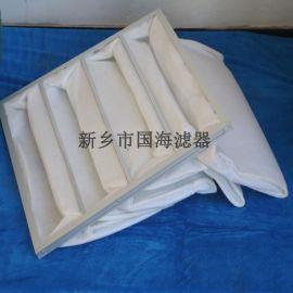 G4白色过滤棉初效袋式空气过滤器
