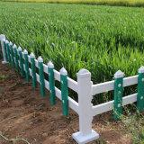 湖南婁底pvc塑鋼草坪護欄廠家 綠化道路護欄價格