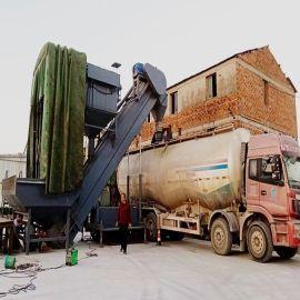 通畅散水泥拆箱机 集装箱干灰卸车机 粉煤灰中转设备