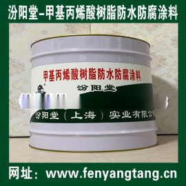 甲基丙烯酸树脂防水防腐涂料、工期短,施工安全简便