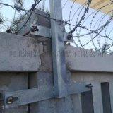 专业生产刺丝滚笼支架 刺丝滚笼立柱