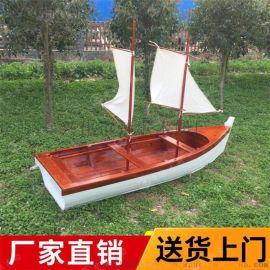 泉州防腐木海盗船8米海盗船定制
