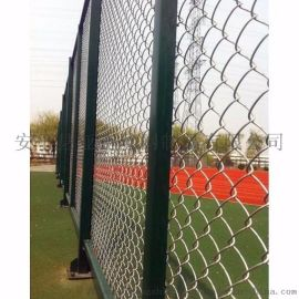 厂家  包塑勾花网  菱形勾花网 篮球场浸塑防护网