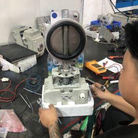 電動閥D971X-16P DN200對夾電動蝶閥