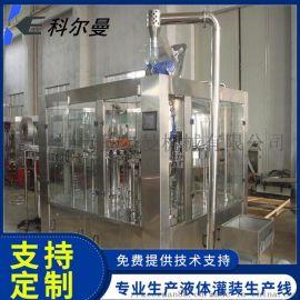 饮料灌装机 矿泉水大桶水灌装设备四合一灌装生产线