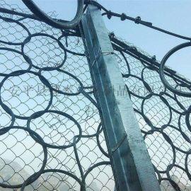 菱形被动防护网 柔性被动防护网