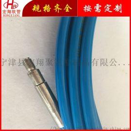 液压管件机械  压树脂软管,钢丝缠绕清洗机高压软管