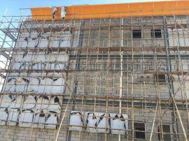 工业写字楼大厦外墙檐口氟碳铝单板幕墙铝板定制厂家