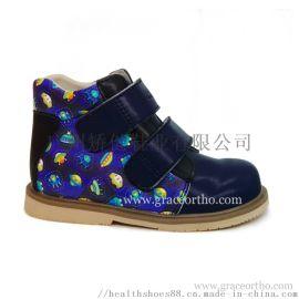 广州真皮外贸童鞋,儿童矫形鞋,八字步矫正鞋