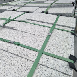 g603芝麻白干挂砖 白麻g603高墙砖 地面平板