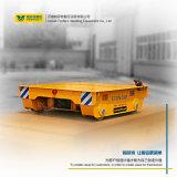 直流调速轨道地平车遥控蓄电池运输平台 过跨平车定制