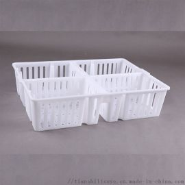 厂家定制鸡苗箱塑料鸡苗筐鸡鸭苗运输箱