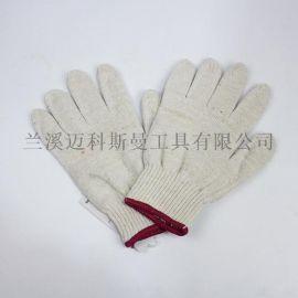 10针电脑机本白棉纱手套
