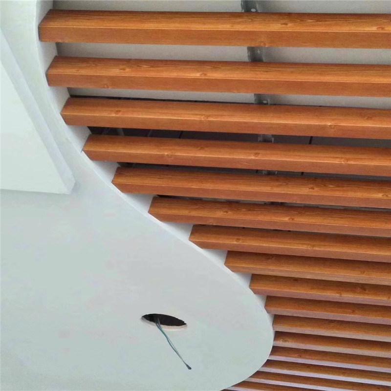 橡樹木紋鋁方管 紅樹木紋鋁方管定製廠家
