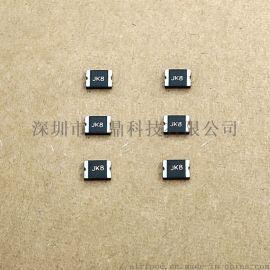 丝印JK110的JK-mSMD110贴片保险丝