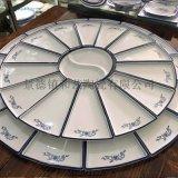 陶瓷大魚盤 菜酒店海鮮大盤子