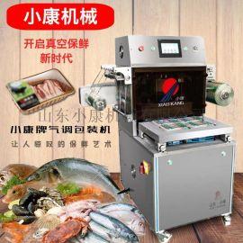 小康水果蔬菜盒式气调包装机,厂家直销盒式气调包装机