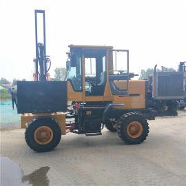 液压锤护栏打桩机 柴油动力护栏打桩机 可定制生产