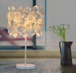 花朵台灯 床头台灯 美容院台灯