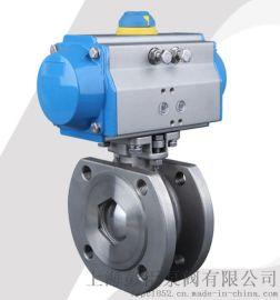 上海气动对夹式球阀-气动薄型球阀厂家