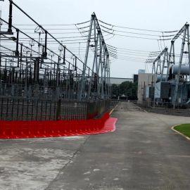 上海塑料挡水板 组合式挡水门厂家防汛防洪挡水门定制
