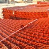 菱形鋼笆網片  鋼笆網片  建築施工鋼笆片