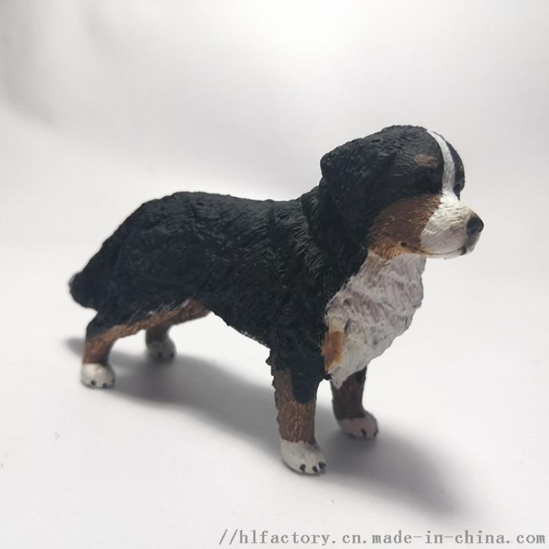 禮物男孩模擬動物狗狗模型寵物狗狗廠家定製擺件