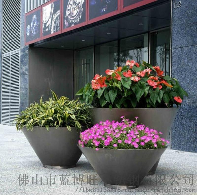 创意盆栽花架办公室咖啡厅餐厅落地花箱绿萝矮架子