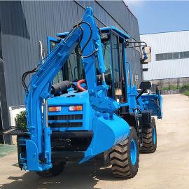 挖掘装载工程用两头忙 小型装载两用机械 生产厂家