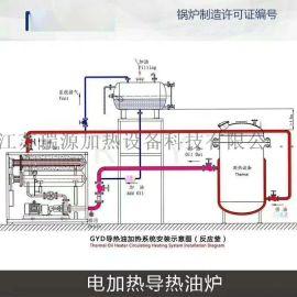 工业电锅炉 硫化机用电加热导热油炉