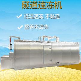 隧道式液氮速冻机 海鲜速冻机设备