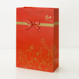 高檔紅色酒袋 雙支紅酒袋 禮品包裝袋