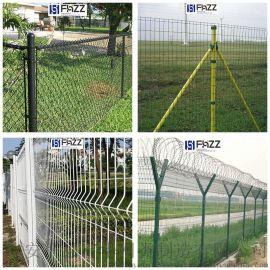 富华PVC涂塑镀锌铁丝网围栏 新式外场封闭围网