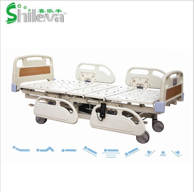 电动七功能床, ICU重症护理床,电动翻身护理床