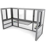 鋁合金封陽臺興發鋁業帕克斯頓門窗系統