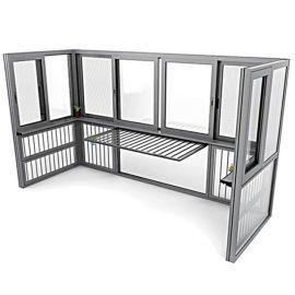 铝合金封阳台兴发铝业帕克斯顿门窗系统