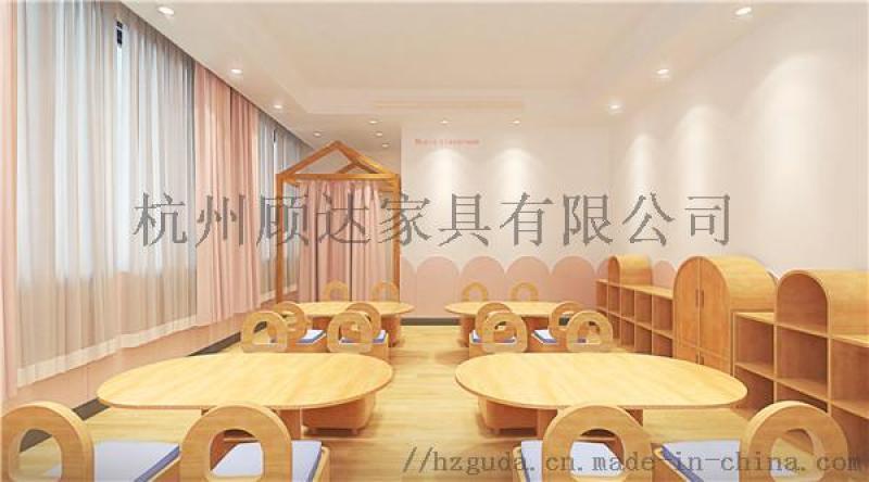 杭州早教家具|儿童学校桌椅|早教儿童沙发定做