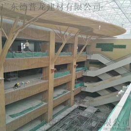 贵州五龙抢宝外墙铝方管间距 墙面造型铝合金方管详情