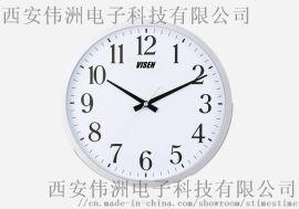 时间同步铝合金指针钟 对时指针钟 同步指针钟 网络指针钟