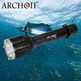 ARCHON奥瞳W28潜水手电筒 水下渔猎灯   光远射手电筒 防水100米 1000流明