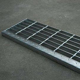 厂家定做钢格板 镀锌钢格栅走道板 平台格栅板定制