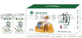 工厂货源定制各种规格大米铁罐礼盒